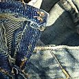 Seam shibori -layers of wear