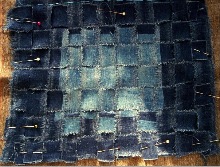 Broken and woven