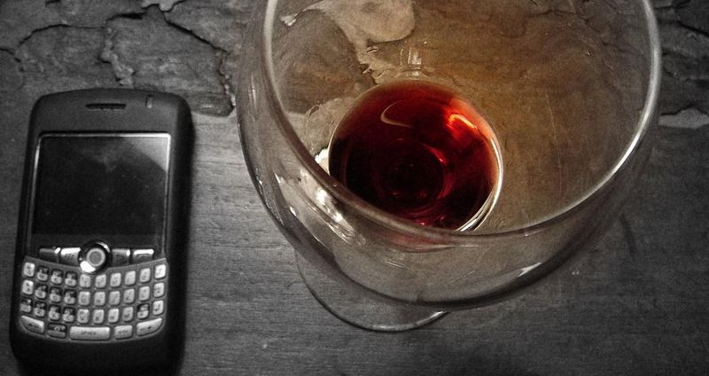 Red wine and technology