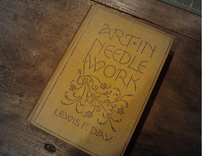 Old needlework book