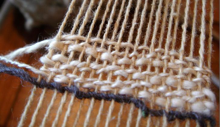 Weaving again