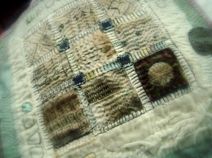 The quilt floating in the mind of the maker