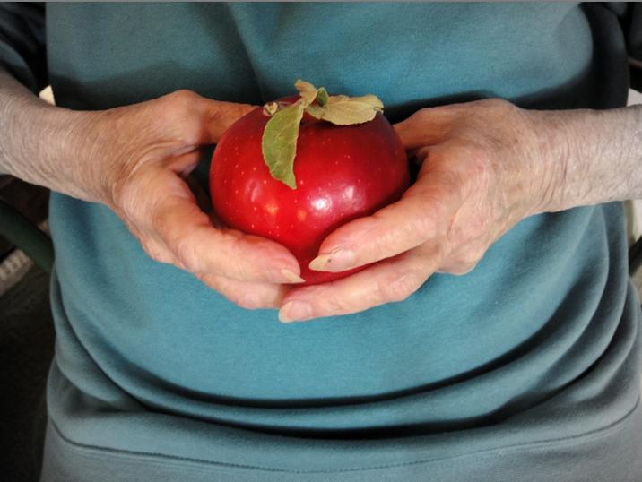 Apple for mom-photo by jeff