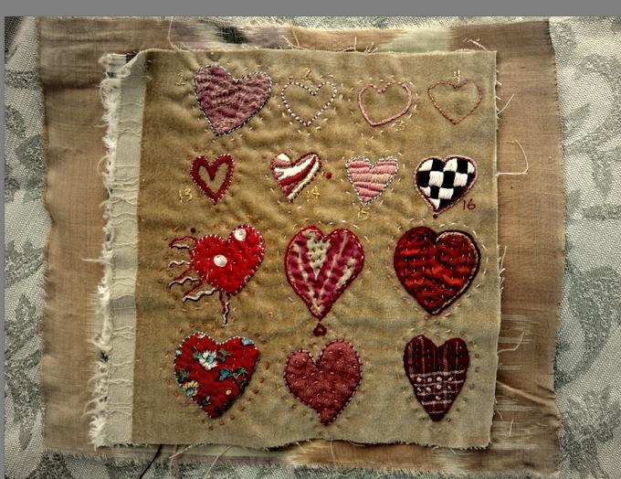 A few hearts