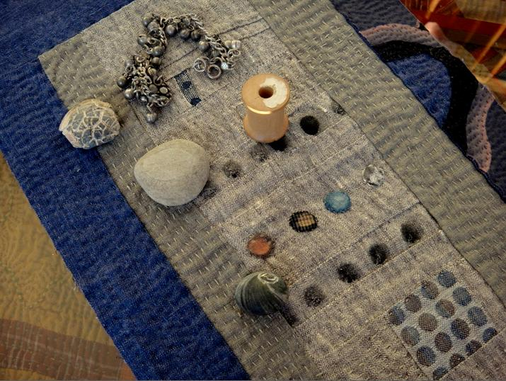 The quilt as a place mat