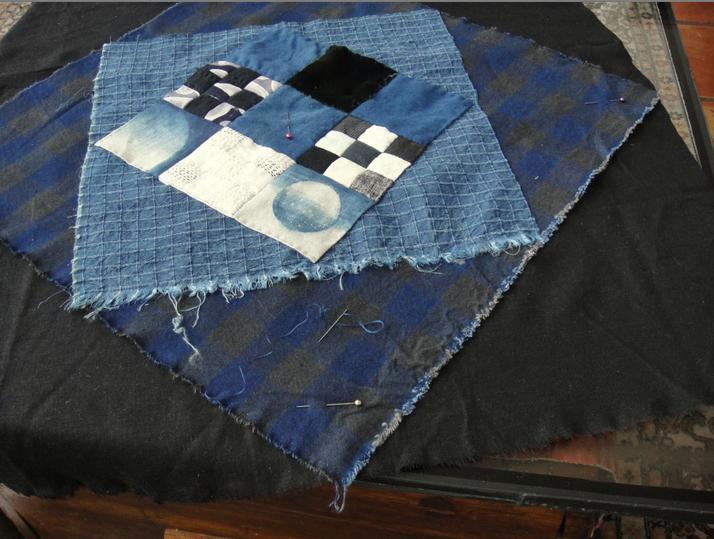 The quilt as a landscape