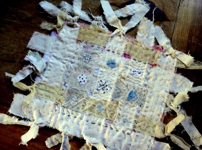 Little woven sampler