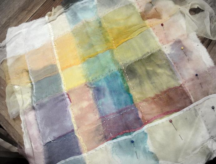 Color wash quilt base
