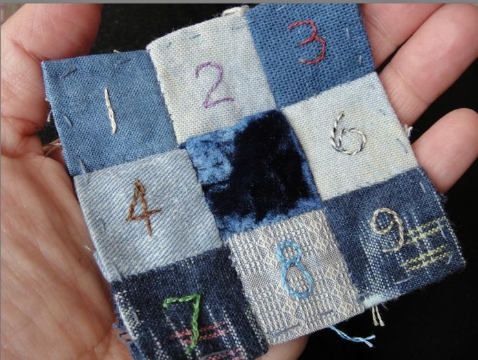 A counting 9 patch