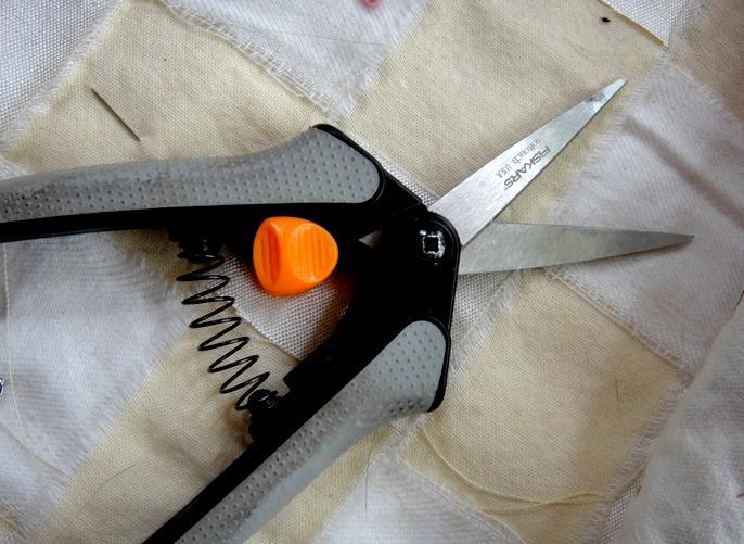 Small sharp scissors