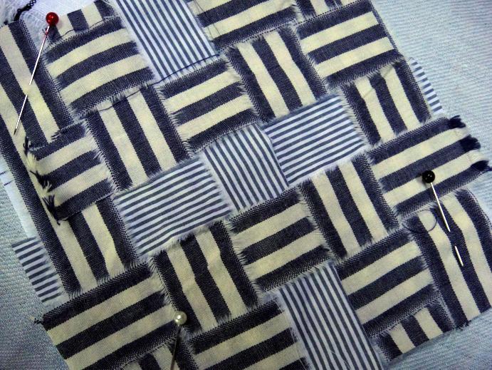 Mixing stripes