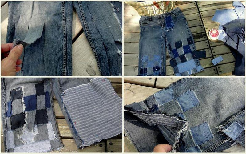 Reconstructing a garment