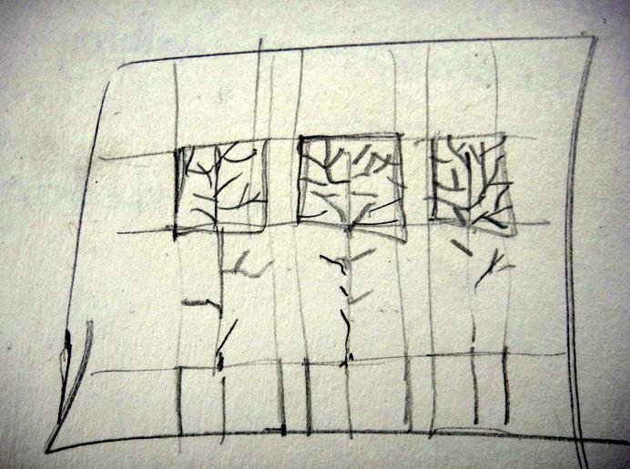Organizing a tangle