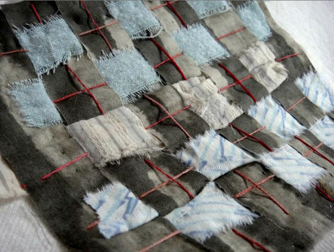 Sewing and weaving