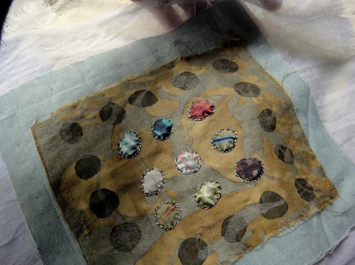 Silk dots fragment