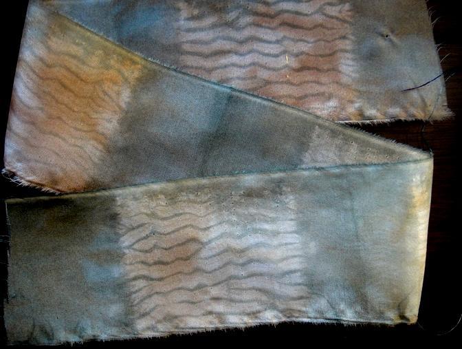Two inch mokume squares