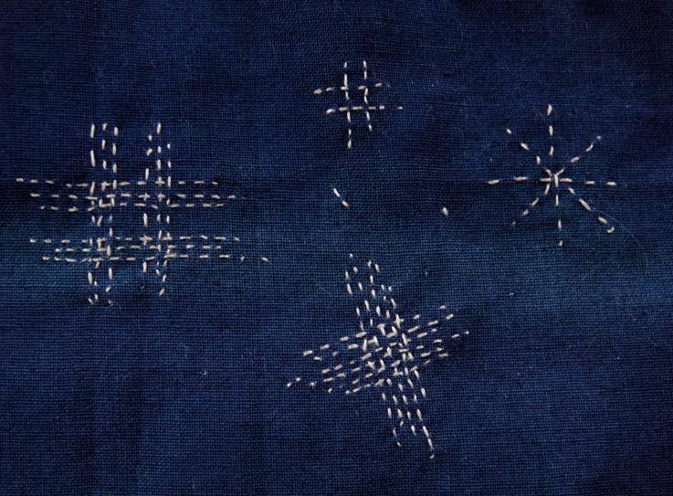 Ikat stitch