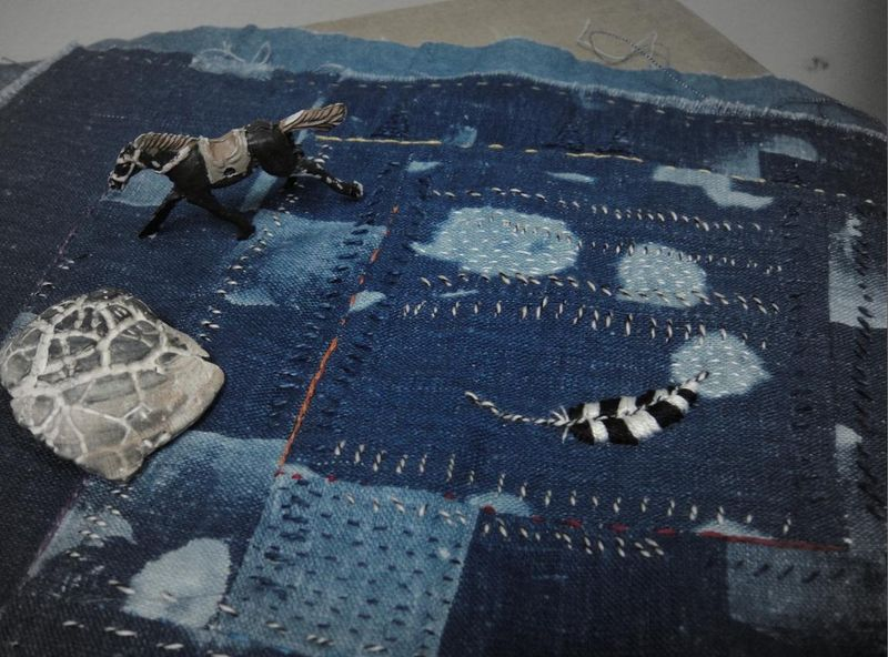Imagining larger cloth