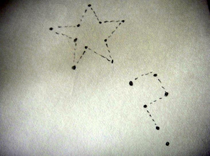 Constellation sketch