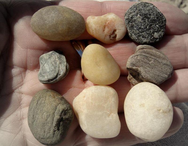 9 rocks