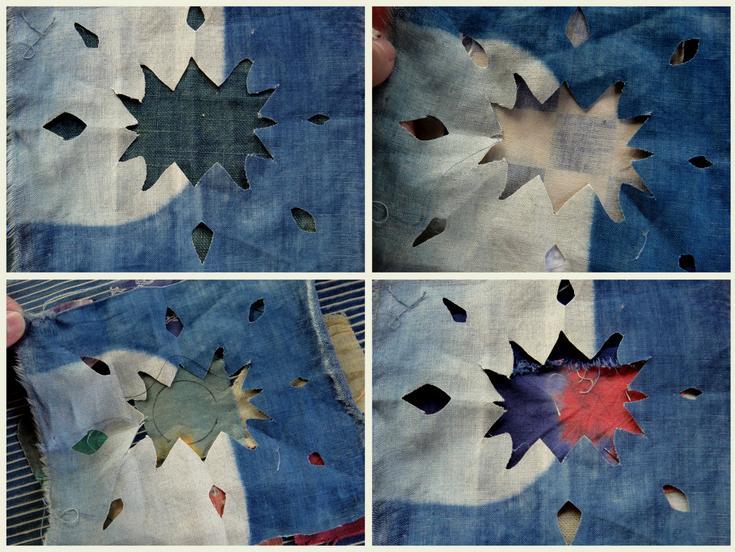 The cloth stencil