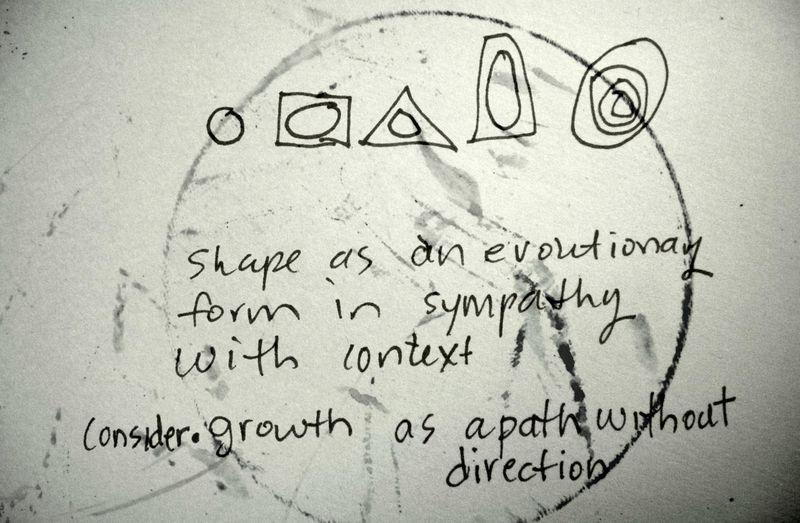 Notes on shape in novemebr