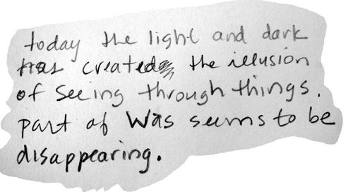 A note on looking through