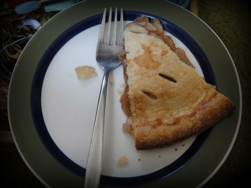 A ring of pie