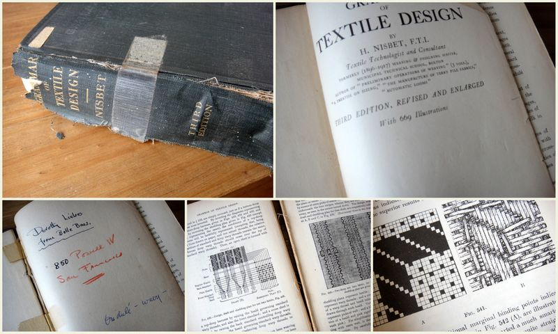 Grammar of textile design