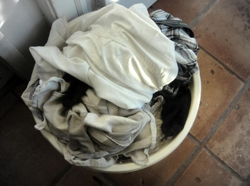 A ring of dirty laundry