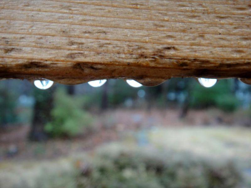 Moonlike droplets