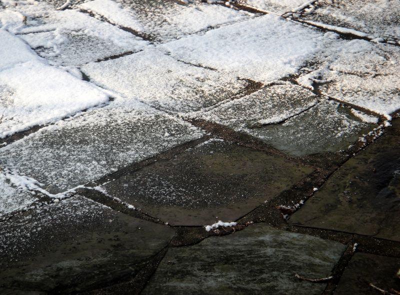 Winter patchwork