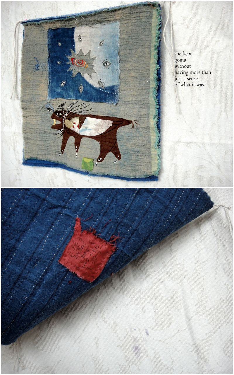 A little story cloth