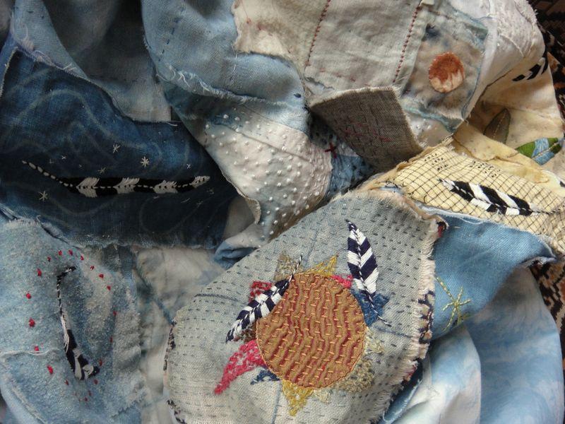 Stitching Home- Spirit Cloth- jude hill