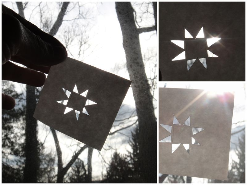 When light and dark are the way you see