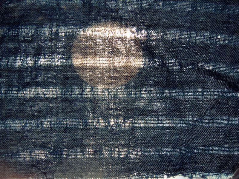 Woven across a moon
