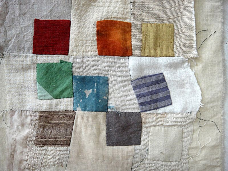 Stitching a lesson