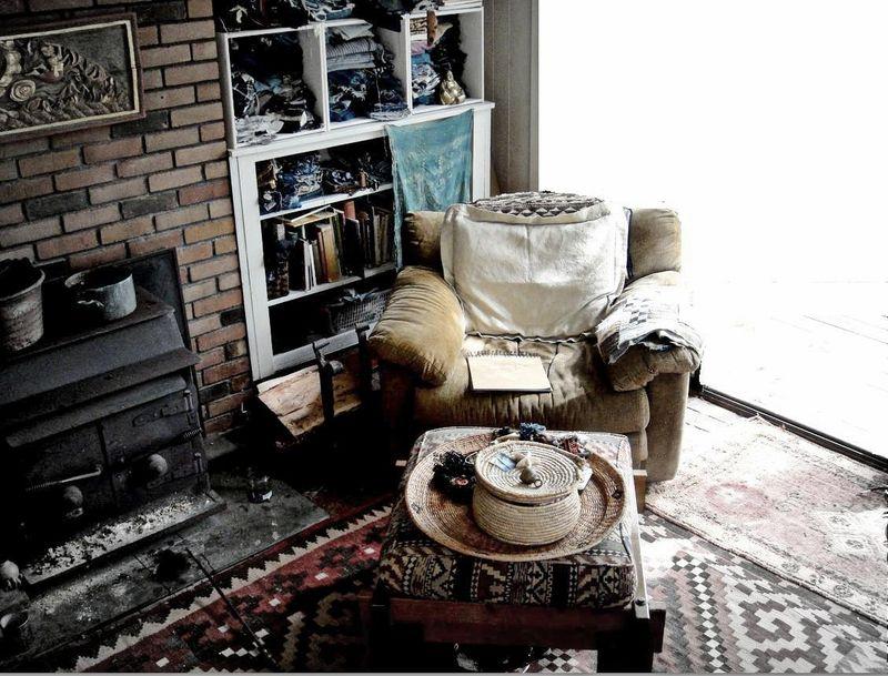 Old sleeper chair