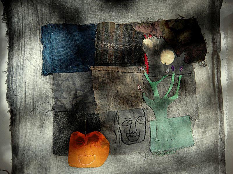 A little halloween cloth