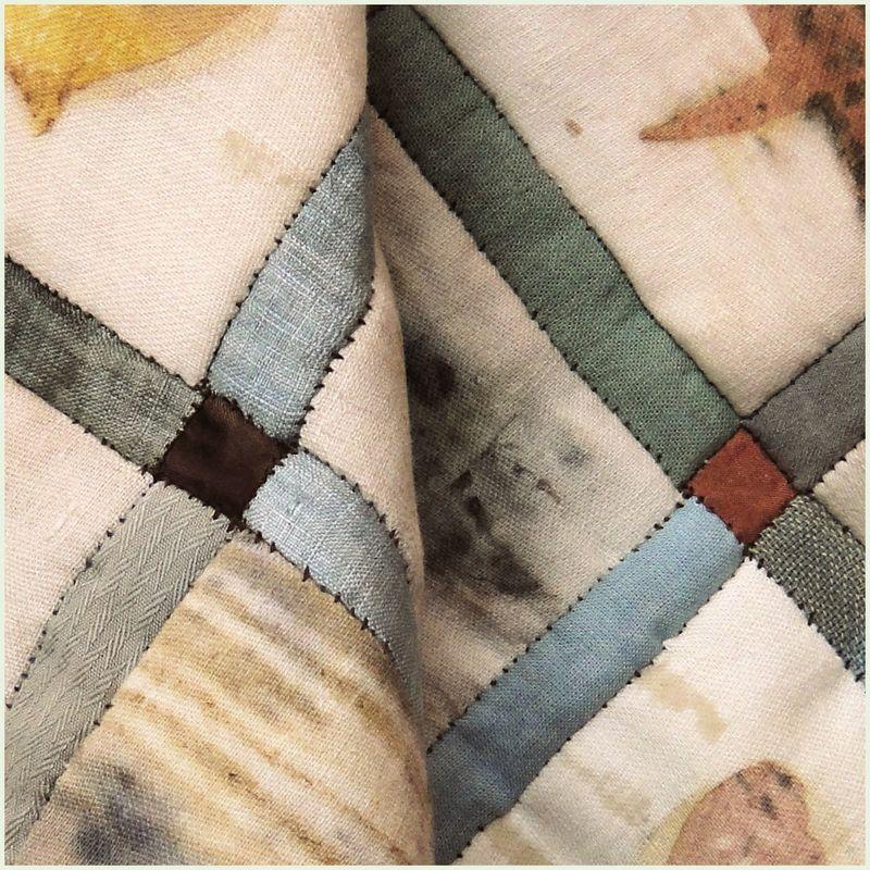 Tiny silk squares