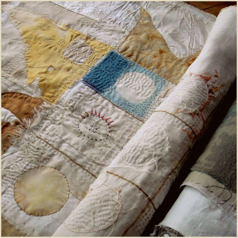 Unrolling a summer cloth