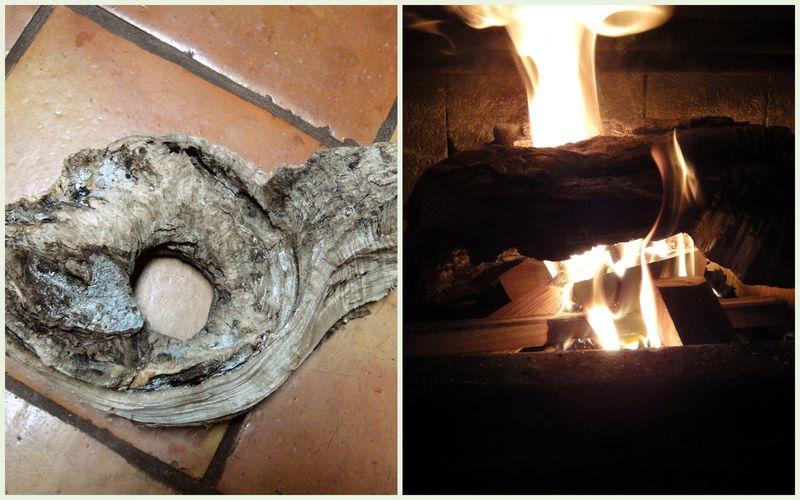 Chimney log