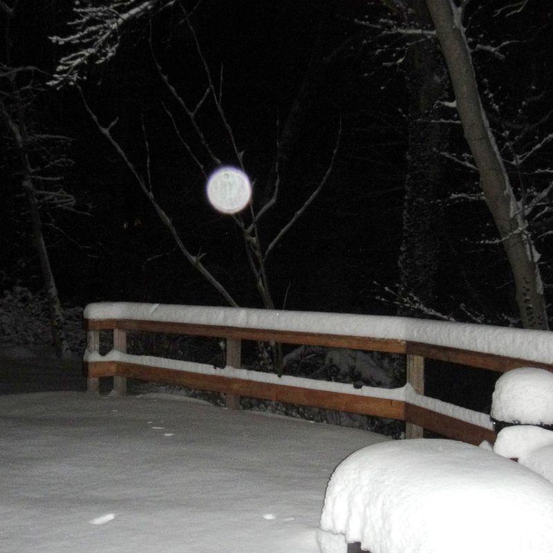 Snowflake like moon