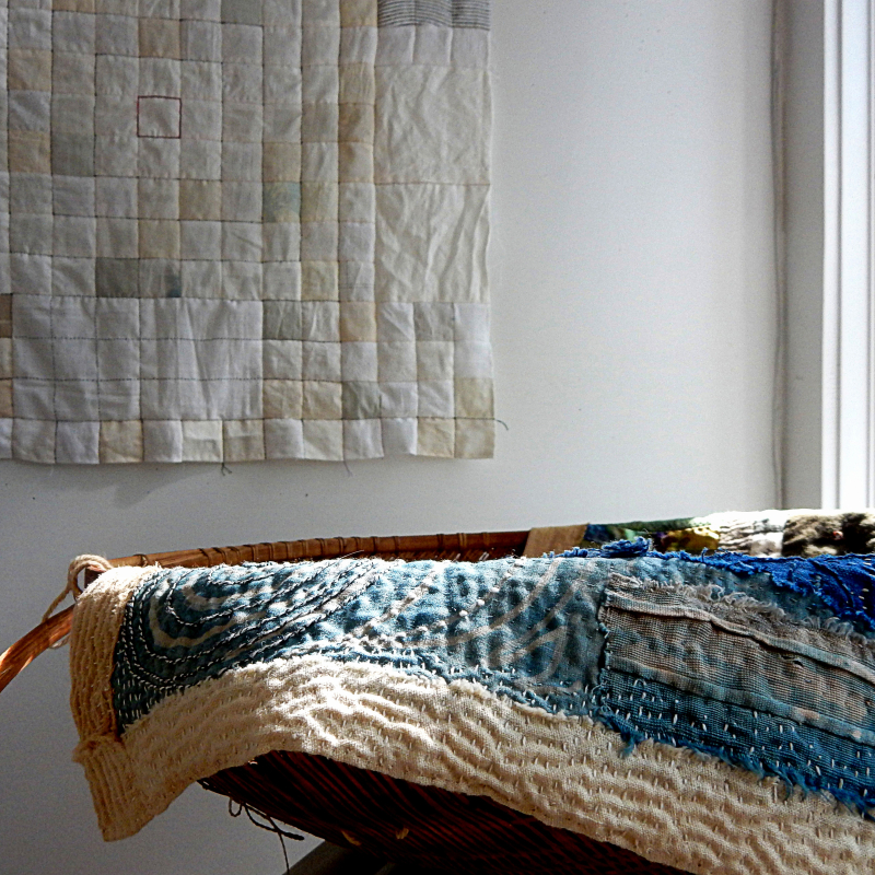 Quilting over the edge