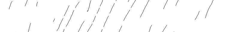 Rainy lines