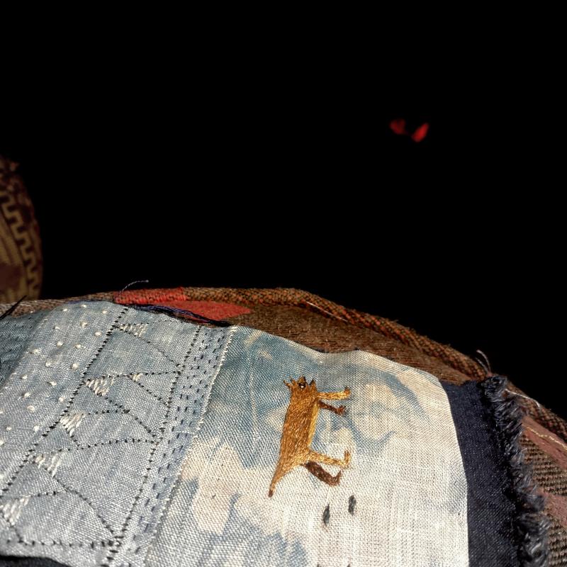 Fireside stitching