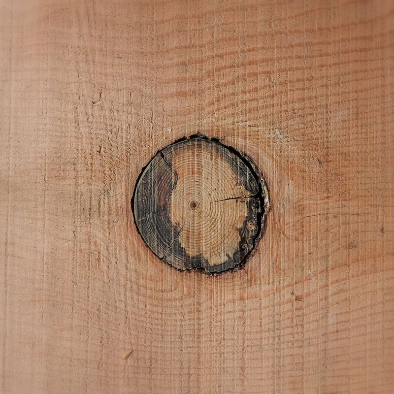 Wood basket moon