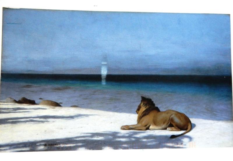 Solitude 1890 Jean-Leon Gerome