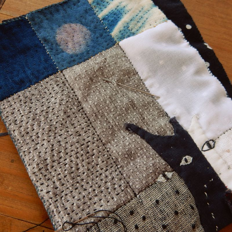 Quilting piece by piece