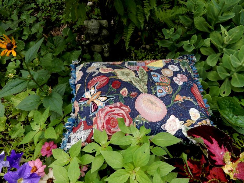 Stitching a secret garden